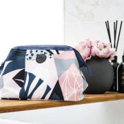 Mr Poppins + Co Mini Me Toiletry Bag Dusk