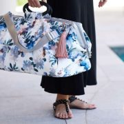 Mr Poppins + Co Kahoots Leisure Bag Bloom