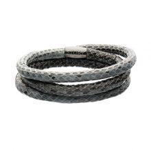 1004883 Story grey snake bracelet