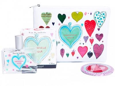 Fragonard Mademoiselle gift case