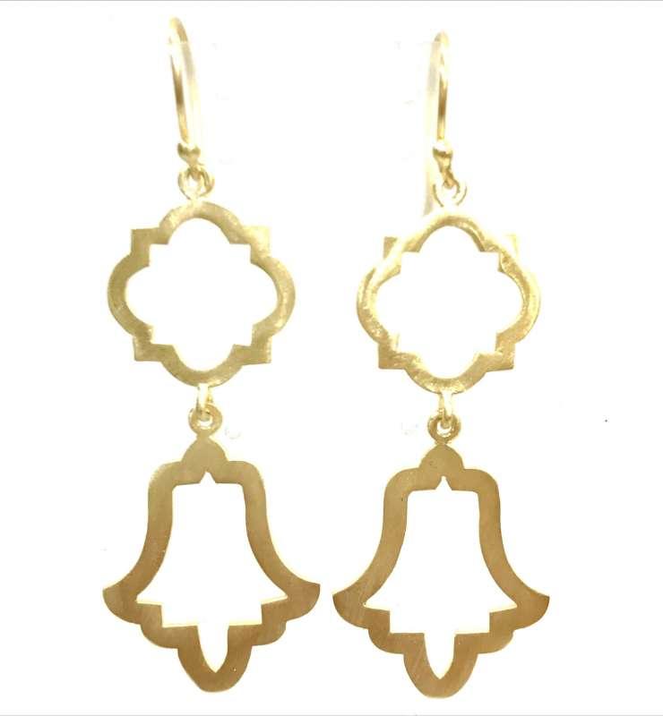 Anatolia Quatrefoil Earrings