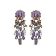 Ayala Bar Purple Rain Della Earrings