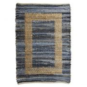 Eb & Ive Piedra door rug Denim