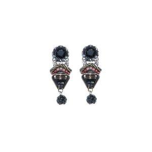 Ayala Bar Black Tree Note Earrings