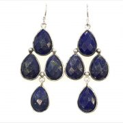 Lapis Lazuli chandelier earrings