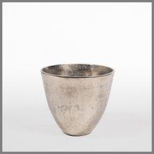 Ice bucket in polished aluminium