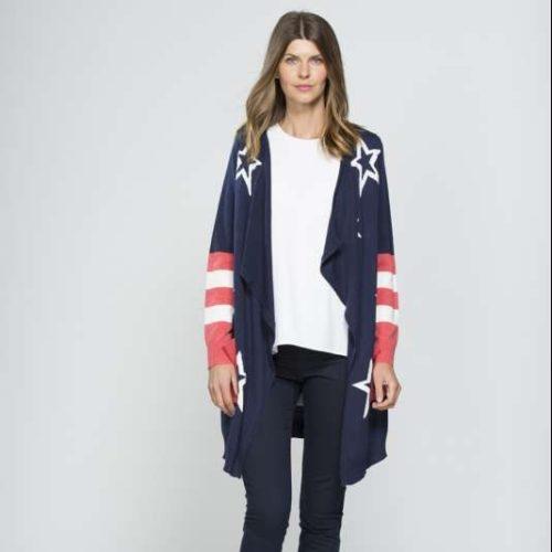 32702 Clarity Stars & Stripes Cardigan