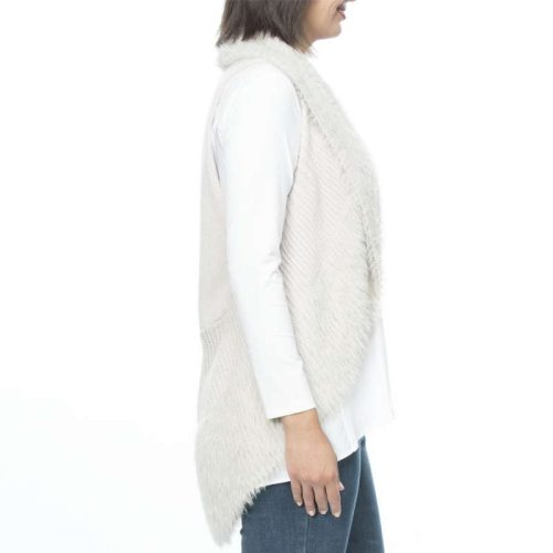 33676 Threadz Faux Fur Vest