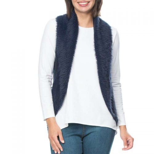33676 Threadz Faux Fur Vest