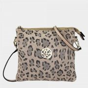 Willow & Zac Jacqui Nude Leopard