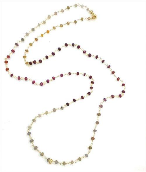 Anatolia Sapphire Rosary Necklace