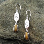 Entia Tigers Eye earrings