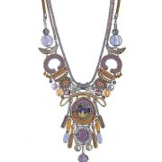 Ayala Bar Purple Rain Mantra Necklace