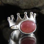 Entia Rhodochrosite Ring