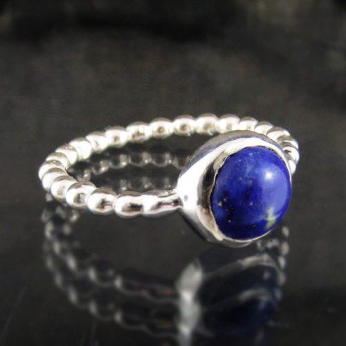 Entia Lapis Lazuli round ring
