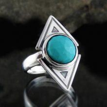 Entia Turquoise ring