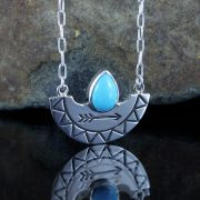 Entia Turquoise necklace