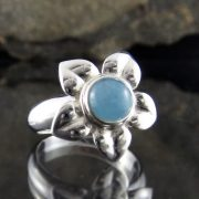 Entia Aquamarine Ring