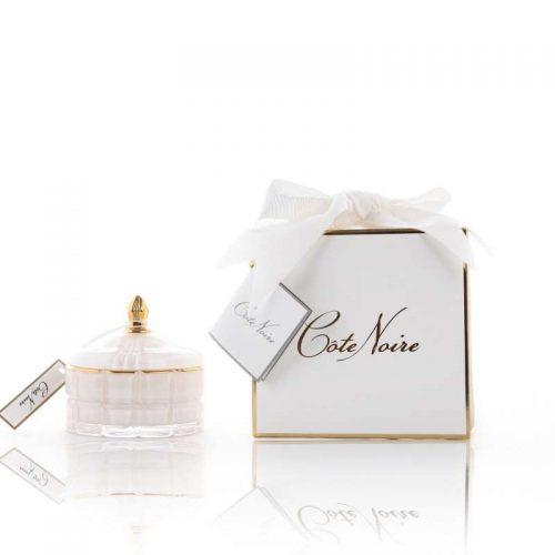 Cote Noire Art Deco candle White