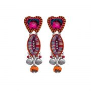 Ayala Bar Crimson Voyage Amanda Earrings