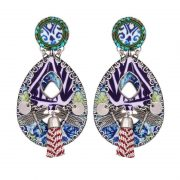Ayala Bar Lotus Flower Earrings