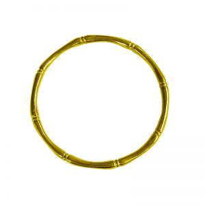 Murkani Bamboo round bangle Gold