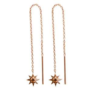Murkani Falling star earrings Rose Gold