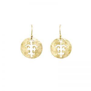 Murkani Tolus earrings in Yellow Gold plate