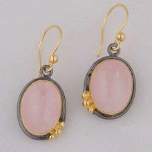 Anatolia Rose Quartz Earrings