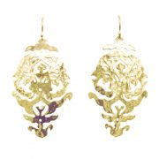 Murkani Empire Earrings Gold