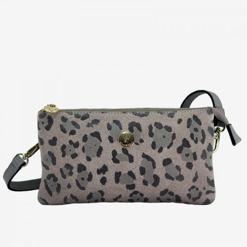 Willow & Zac Evie nude leopard with grey