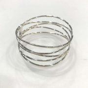 Mexican Silver Wire Bangle