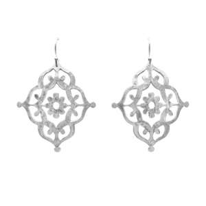 Murkani Gypsy drop earrings Sterling Silver