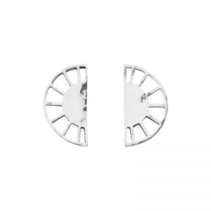 Murkani Half circle earrings Sterling Silver