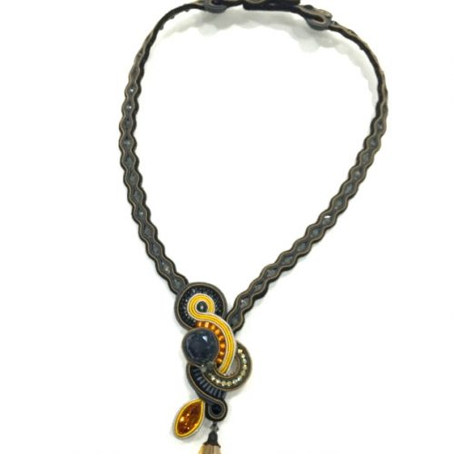 Dori Csengeri Black Gold Necklace ASP/N752