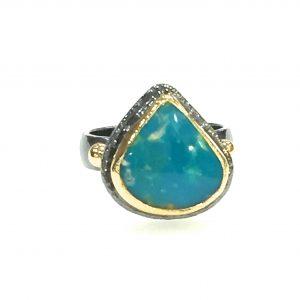 Anatolia Iranian Turquoise Ring