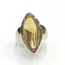 Preyas Citrine Ring Marquis