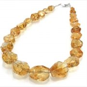 Entia Citrine Necklace