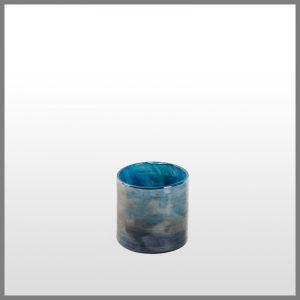 Horgans Luster Blue votive