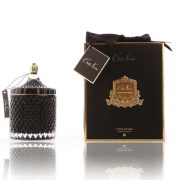 Cote Noire Art Deco candle large Black