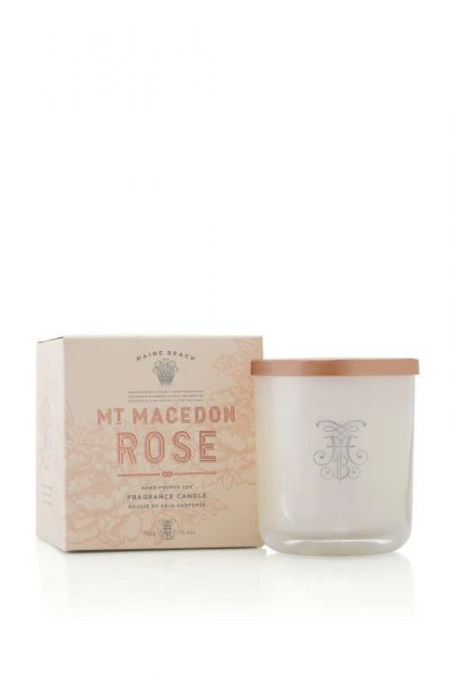 Maine Beach Mt Macedon Rose Candle