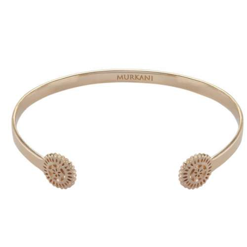 Murkani Lace doily open Cuff Rose Gold