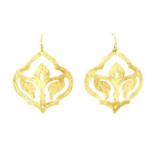 Murkani Moroccan drop Earrings Gold