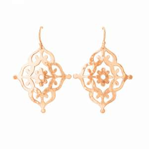Murkani Gypsy drop earrings Rose Gold
