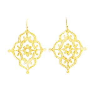 Murkani Gypsy drop earrings Gold