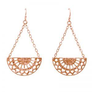 Murkani Ottoman Earrings Rose Gold