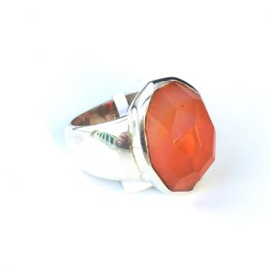 Preyas Carnelian Ring Oval