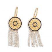 Anatolia Sultan's Wreath Earrings tassel