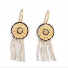 Anatolia Sultan's Wreath Earrings tassel