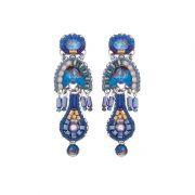 Sapphire Rain, Maor Earrings